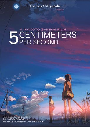 5 Centimeters Per Second -blu