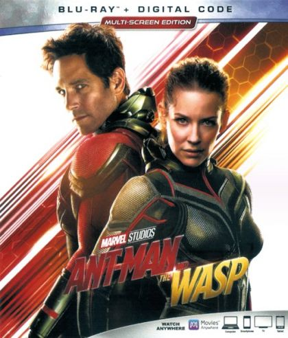 Ant-Man And The Wasp -blu