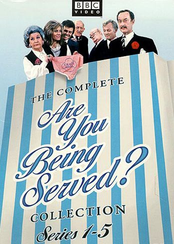 Are You Being Served?: #01-05: The Complete Collection no disc 4
