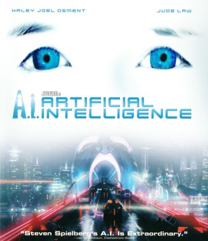 AI Artificial Intelligence -blu