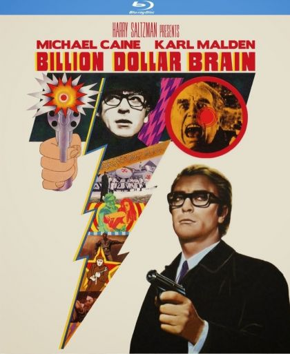 Billion Dollar Brain -blu