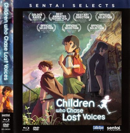 Children Who Chase Lost Voices From Deep Below -blu