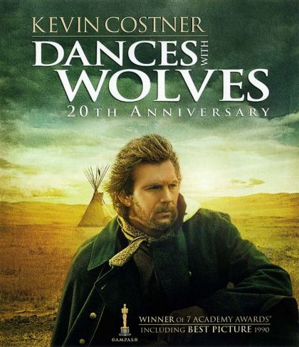 Dances With Wolves -blu