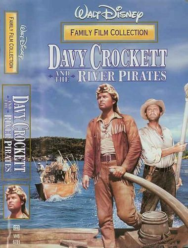 Davy Crockett And The River Pirates -vhs