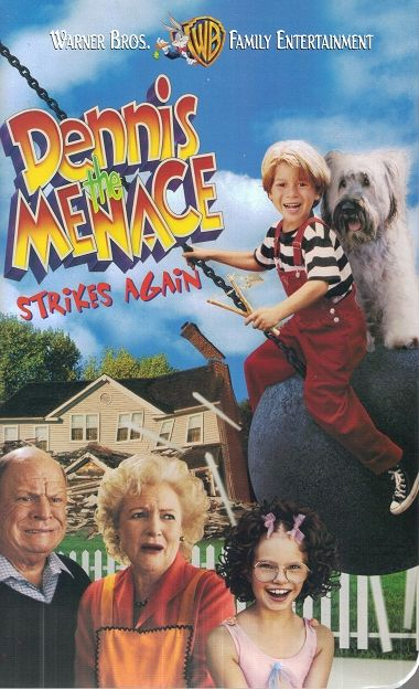 Dennis The Menace Strikes Again -vhs