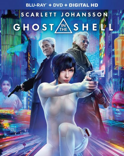 Ghost In The Shell 2017  -blu