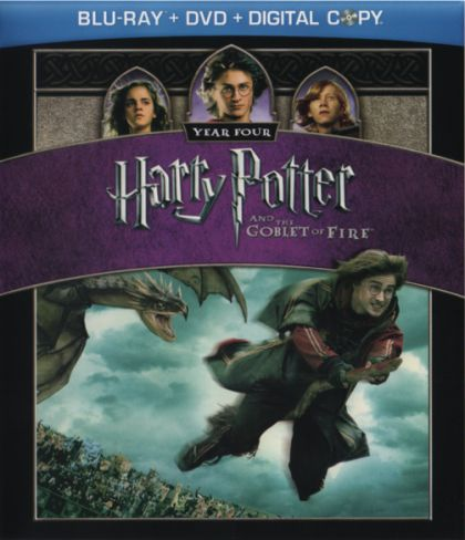 Harry Potter And The Goblet Of Fire - blu