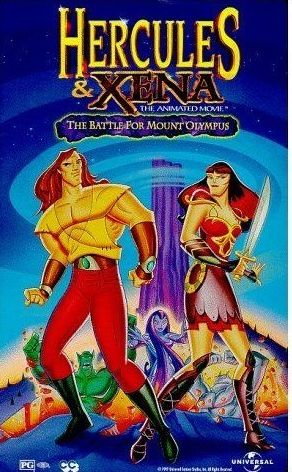 Hercules And Xena: The Animated Movie -vhs