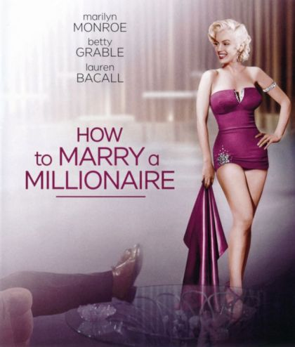 How To Marry A Millionaire -blu