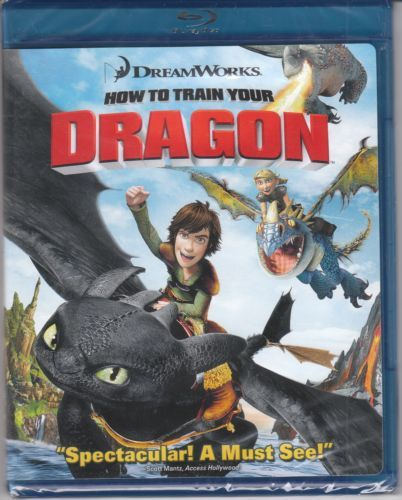 How To Train Your Dragon -blu