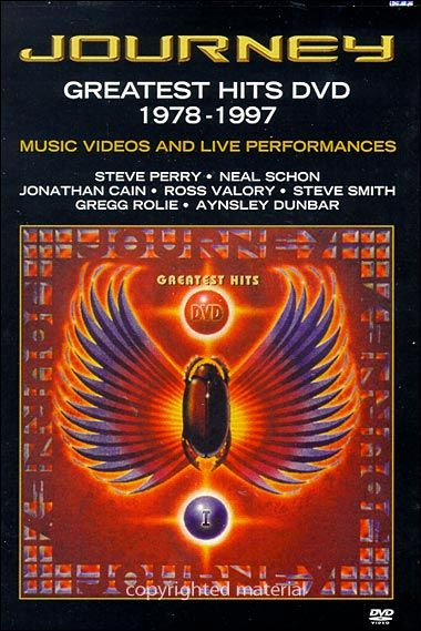 Journey: Greatest Hits Dvd 1978-1997