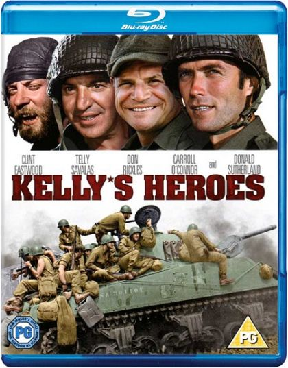 Kelly's Heroes -blu no case