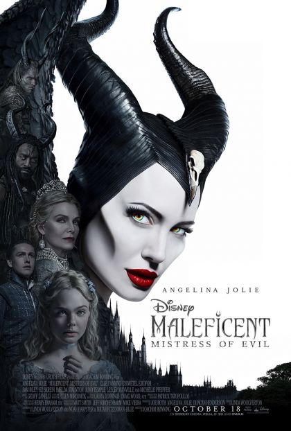 Maleficent: Mistress Of Evil -blu