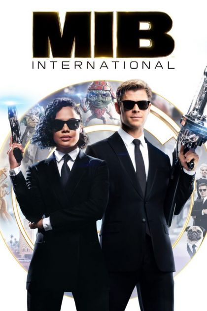 Men In Black: International -blu