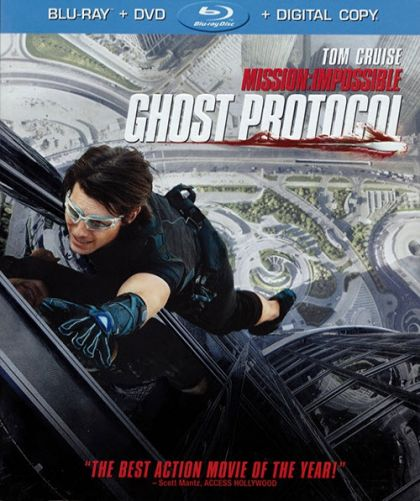 Mission: Impossible: Ghost Protocol - blu