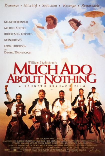 Much Ado About Nothing 1993  -blu