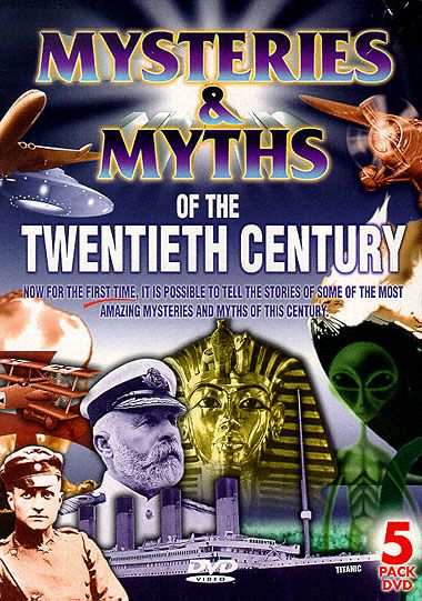 Mysteries And Myths Of The 20th Century #1-5