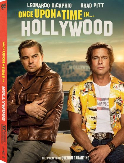 Once Upon A Time... In Hollywood -blu