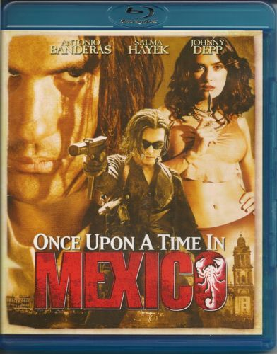 Once Upon A Time In Mexico -blu