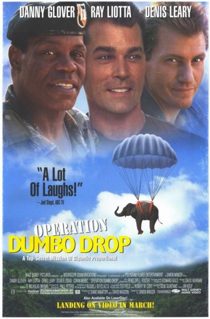 Operation Dumbo Drop -vhs