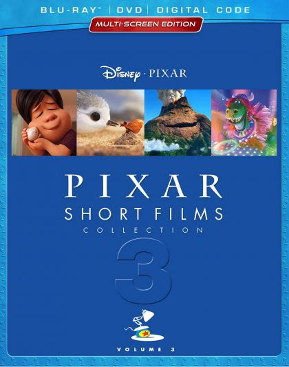 Pixar Short Films Collection, Vol. 3 -blu