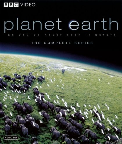 Planet Earth: The Complete Series -blu