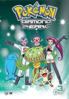 Pokemon: Diamond And Pearl Battle Dimension: Volume 3