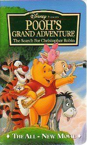 Pooh's Grand Adventure: The Search For Christopher Robin - vhs