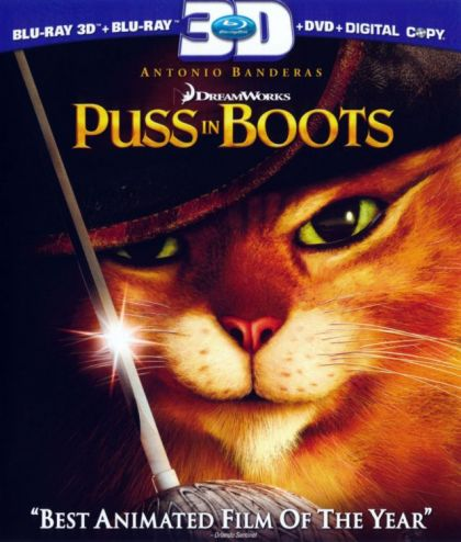 Puss In Boots - blu