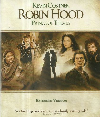 Robin Hood: Prince Of Thieves -blu
