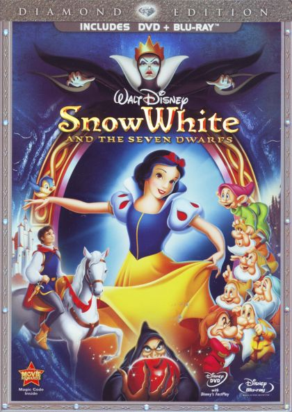 Snow White And The Seven Dwarfs - blu