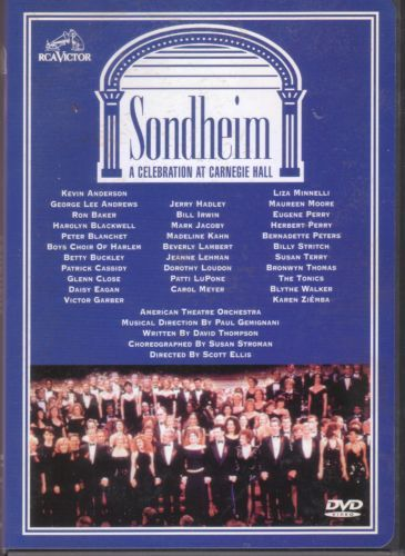 Sondheim: A Celebration At Carnegie Hall: Stephen Sondheim