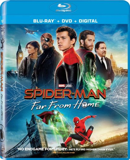 Spider-Man: Far From Home -blu