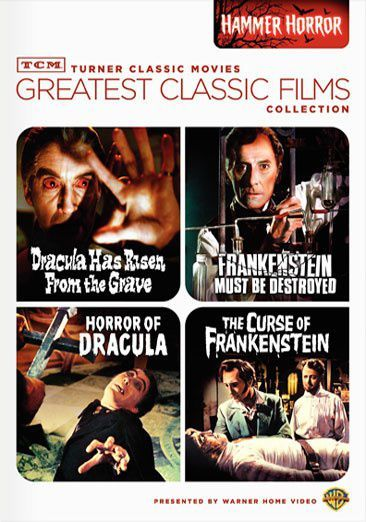 Horror Of Dracula / Dracula Has Risen From The Grave / Curse Of Frankenstein / ...