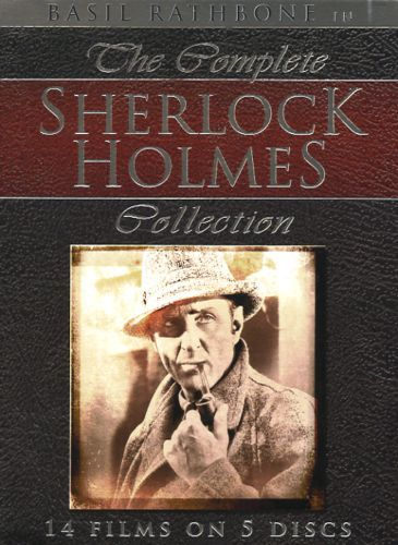 Sherlock Holmes Complete Basil rathbone Collection
