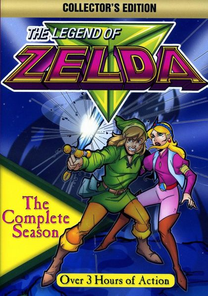 Legend Of Zelda: The Complete Animated Series