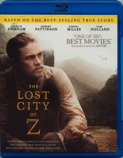 Lost City Of Z -blu