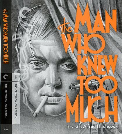 Man Who Knew Too Much 1934  -blu