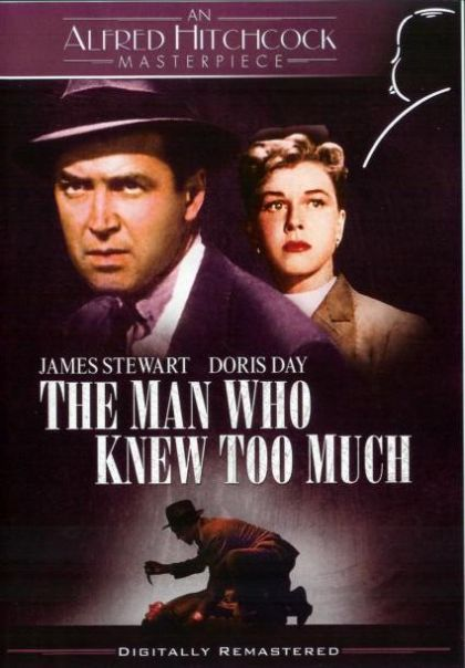 Man Who Knew Too Much 1956 -blu