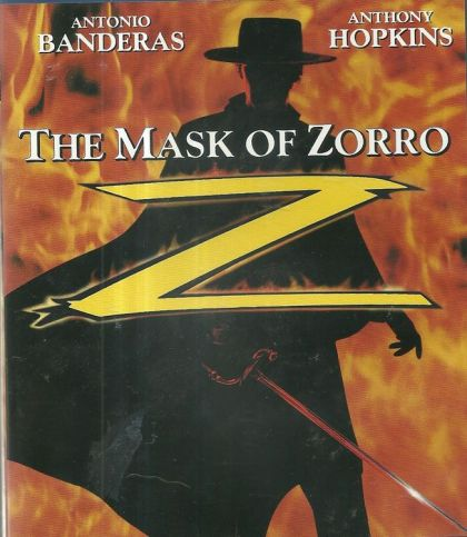 Mask Of Zorro -blu