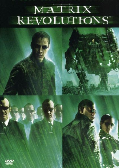 Matrix Revolutions -blu