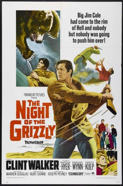 Night Of The Grizzly - blu