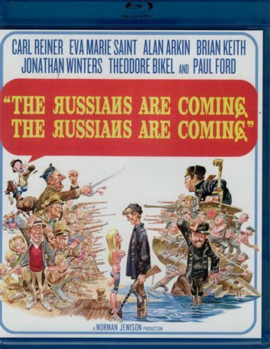 Russians Are Coming, The Russians Are Coming -blu