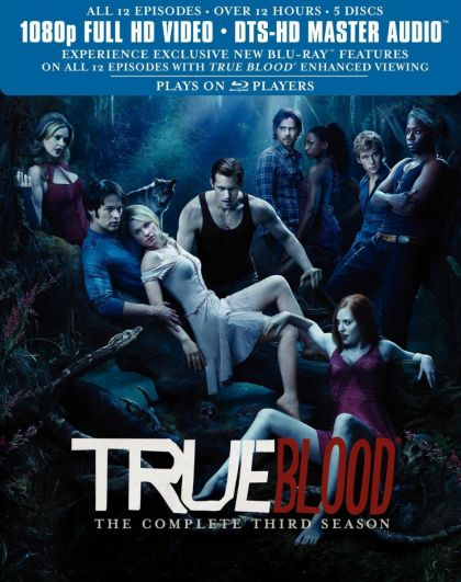 True Blood: Season 3 -blu