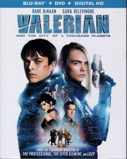 Valerian And The City Of A Thousand Planets -blu