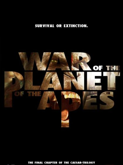 War For The Planet Of The Apes -blu