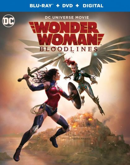 Wonder Woman: Bloodlines -blu