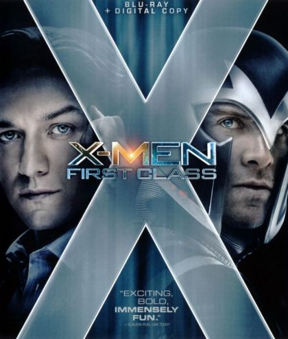 X-Men: First Class -blu