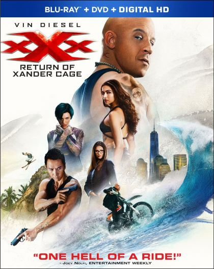 Xxx: The Return Of Xander Cage -blu